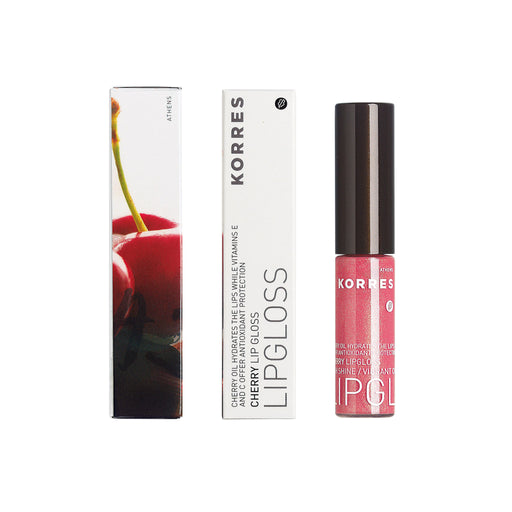 KORRES Lip Gloss Cherry 22 Naked Rose 6ml