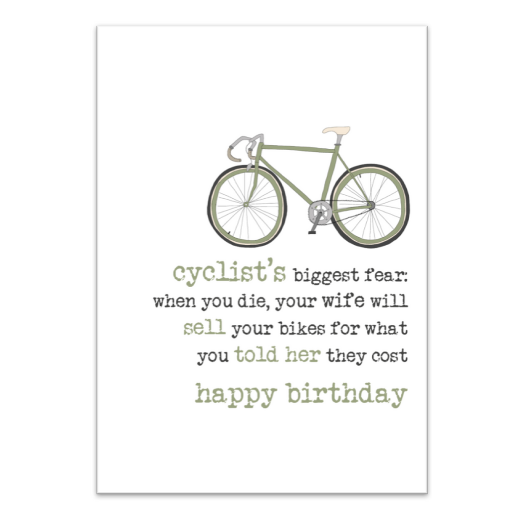 Happy Birthday Cyclist
