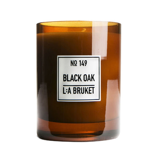 L:A BRUKET Scented Candle Black Oak 260g
