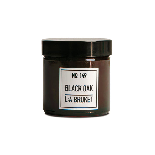 L:A BRUKET Scented Candle Black Oak 50g