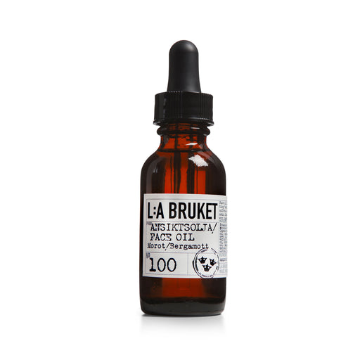 L:A BRUKET Face Oil Carrot/Bergamot 30ml