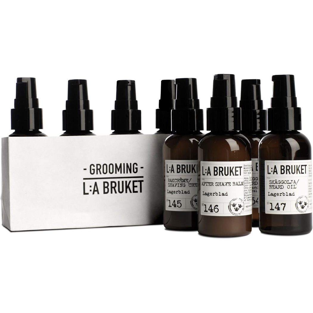 L:A BRUKET Grooming Kit 4x60ml