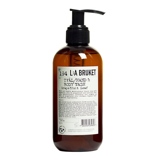 Hand & Body Wash Grapefruit Leaf 250ml