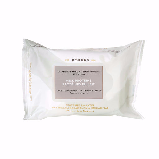 Cleansing & Make-Up Removing Wipes - Milk Proteins 25wipes