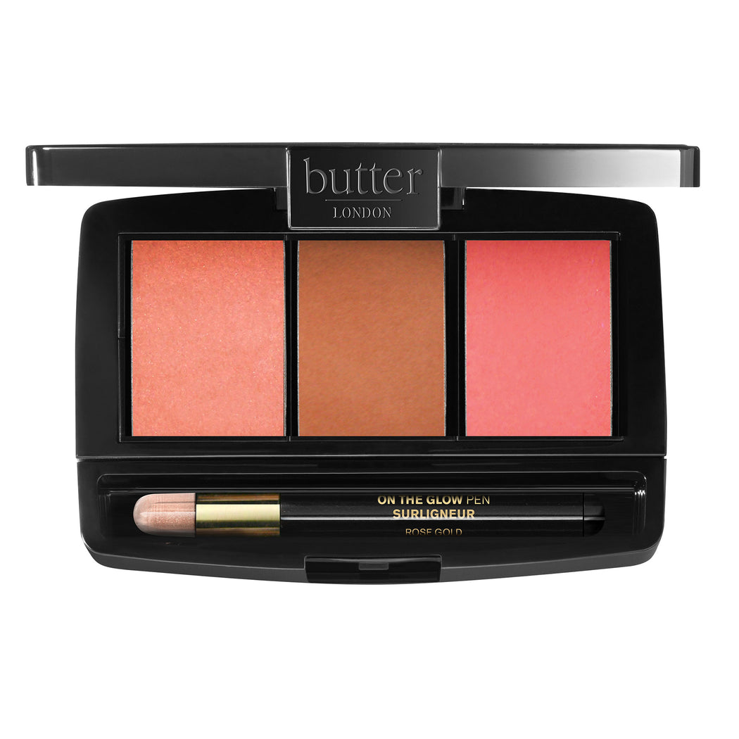 butter LONDON Blush Cluch Palette Simply Sweet 3x3.6g