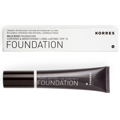 KORRES Foundation Wild Rose SPF15 RF3 30ml