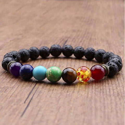FREE Chakra Lava Diffuser Bracelet, just pay for Shipping & Handling!