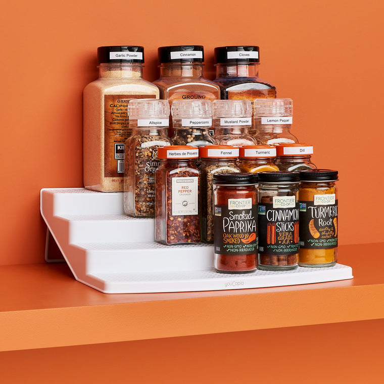 SpiceSteps 24-Bottle Cabinet Spice Rack