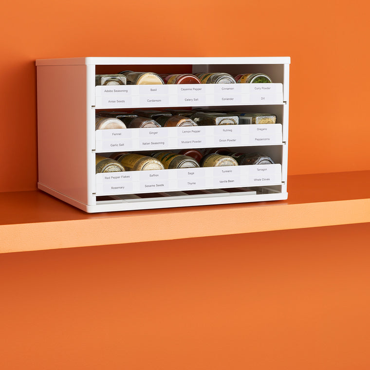SpiceStack Chef's Edition 30-Bottle Cabinet Spice Rack