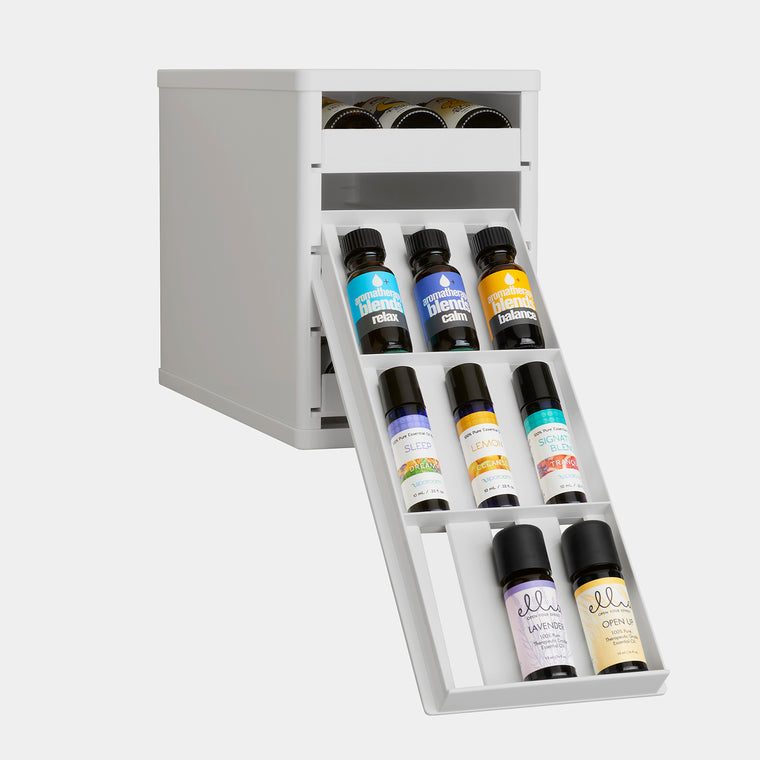 BottleStack Essential Oils Organizer and Nail Polish Holder