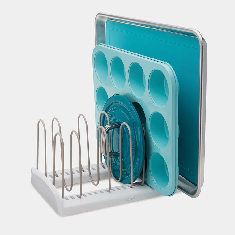 StoreMore Adjustable Kitchen Cabinet Rack