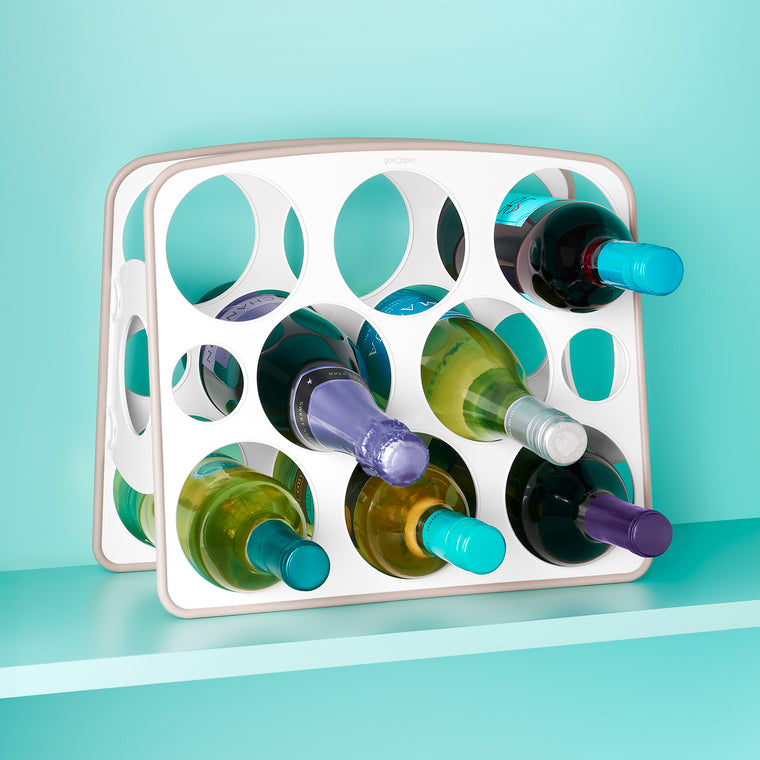 BottleStand™ Travel Mug and Water Bottle Organizer