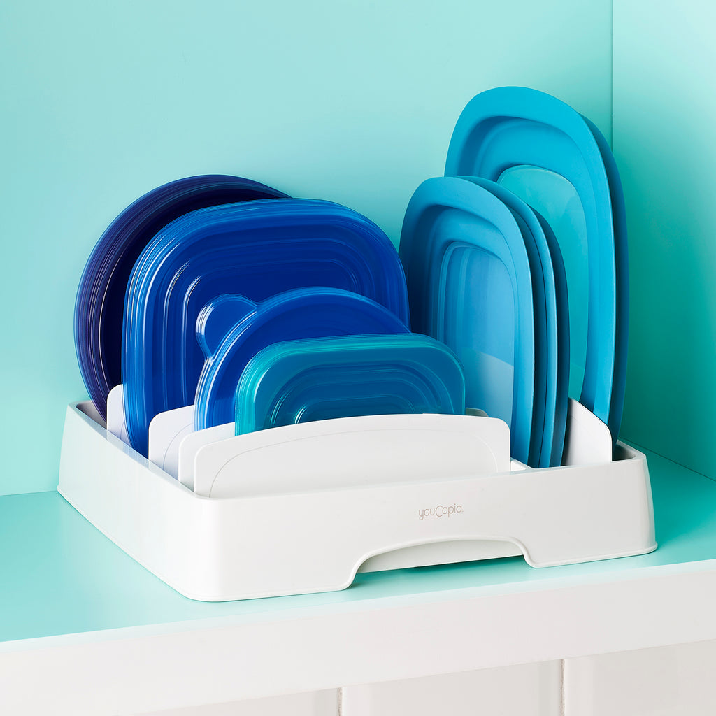 StoraLid Food Container Lid Organizer