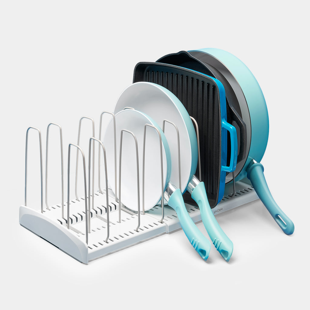 StoreMore® Expandable Cookware Rack