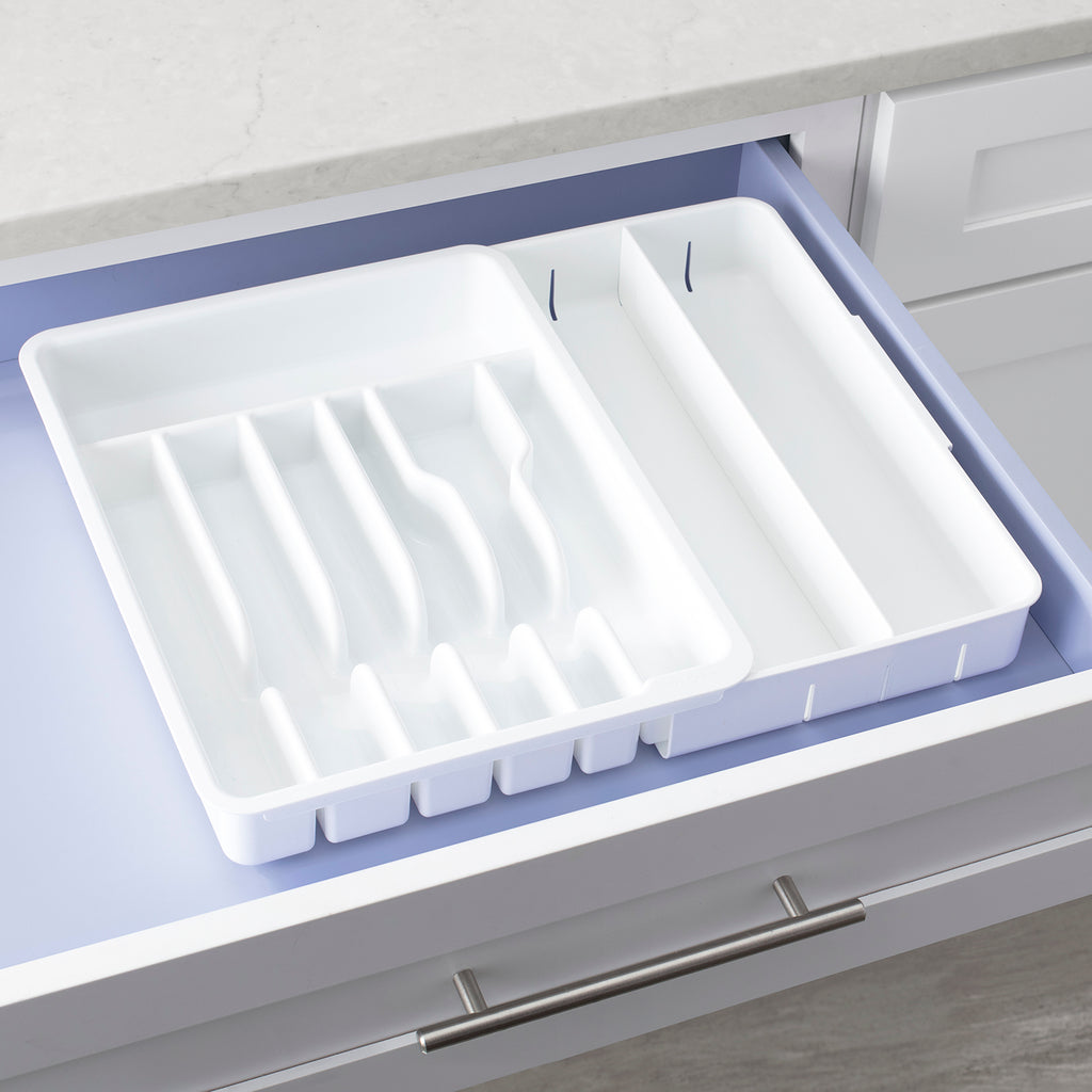 DrawerFit Expandable Utensil Tray