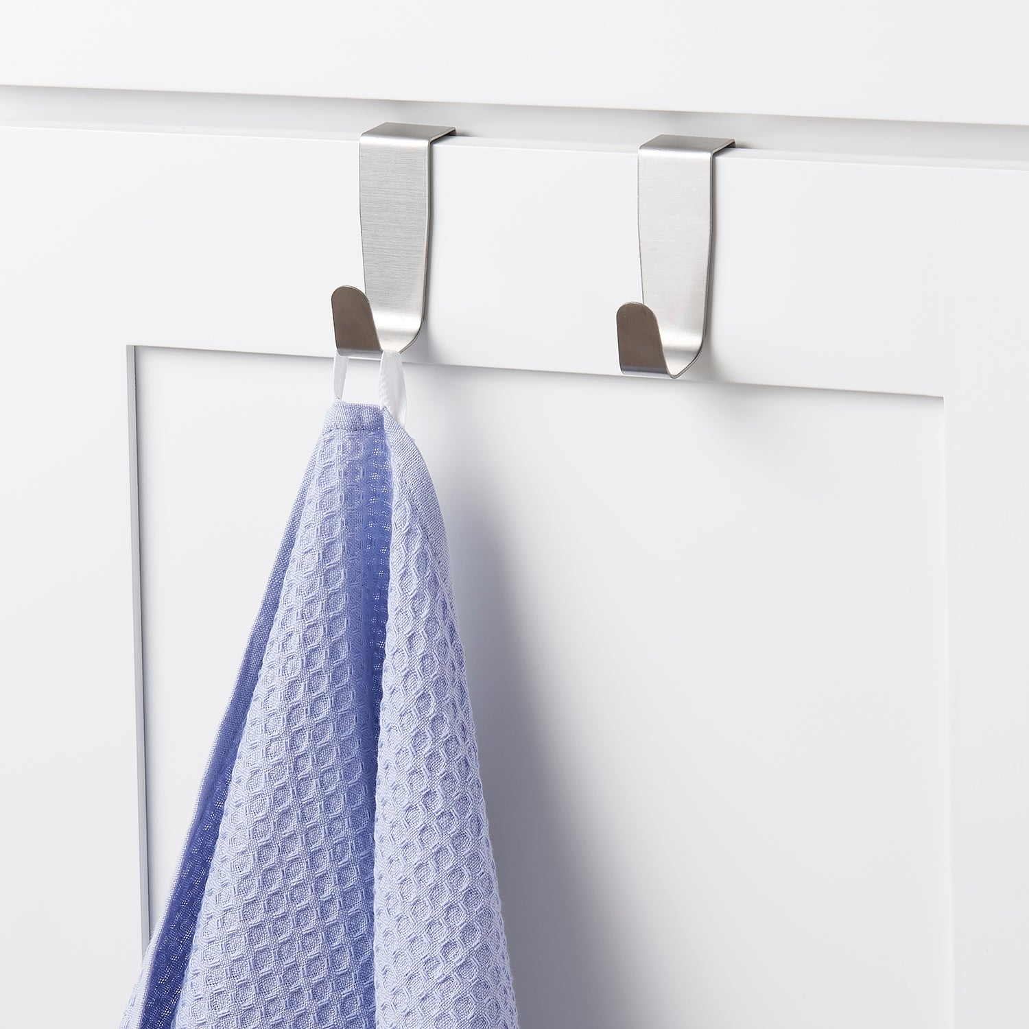 Over the Cabinet Door Single Hook Set of 2