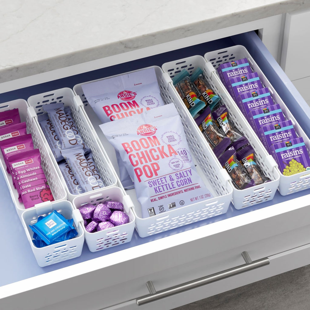 LinkedBin 7-Piece Drawer Organizer