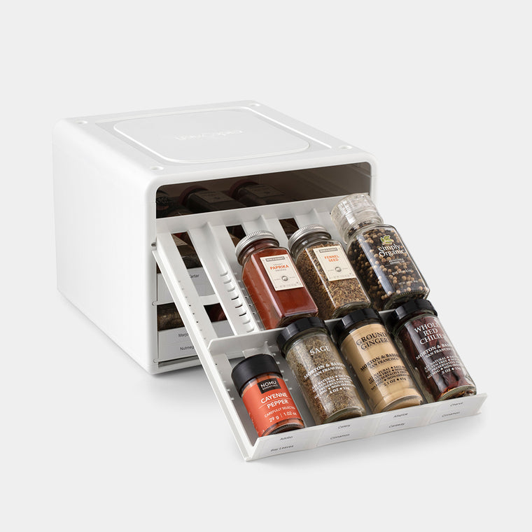 SpiceStack® Adjustable Spice Rack Organizer
