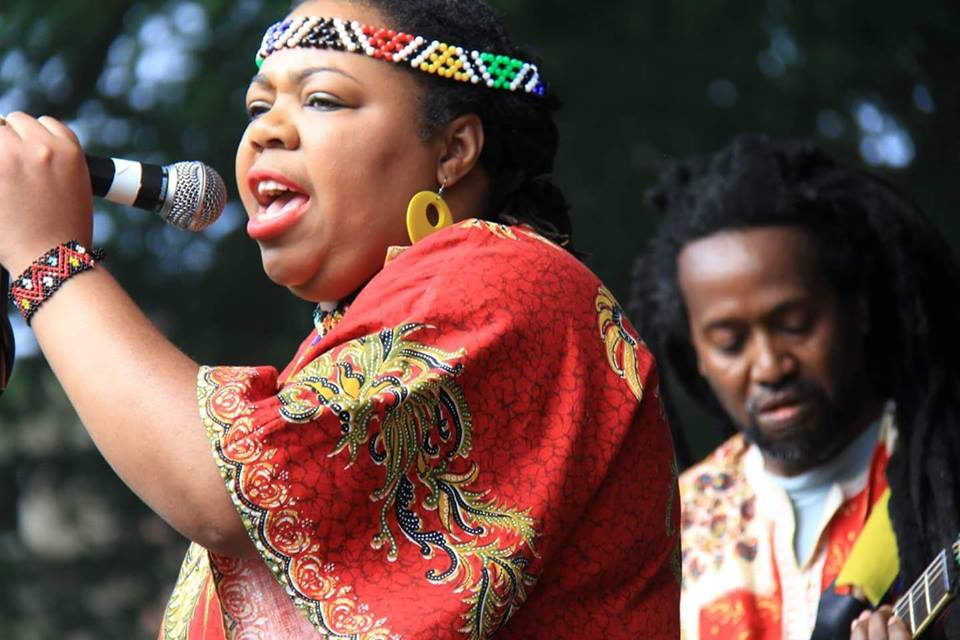 Cecilia Ndhlovu with Bulawayo at Hamilton House on Saturday 30 June