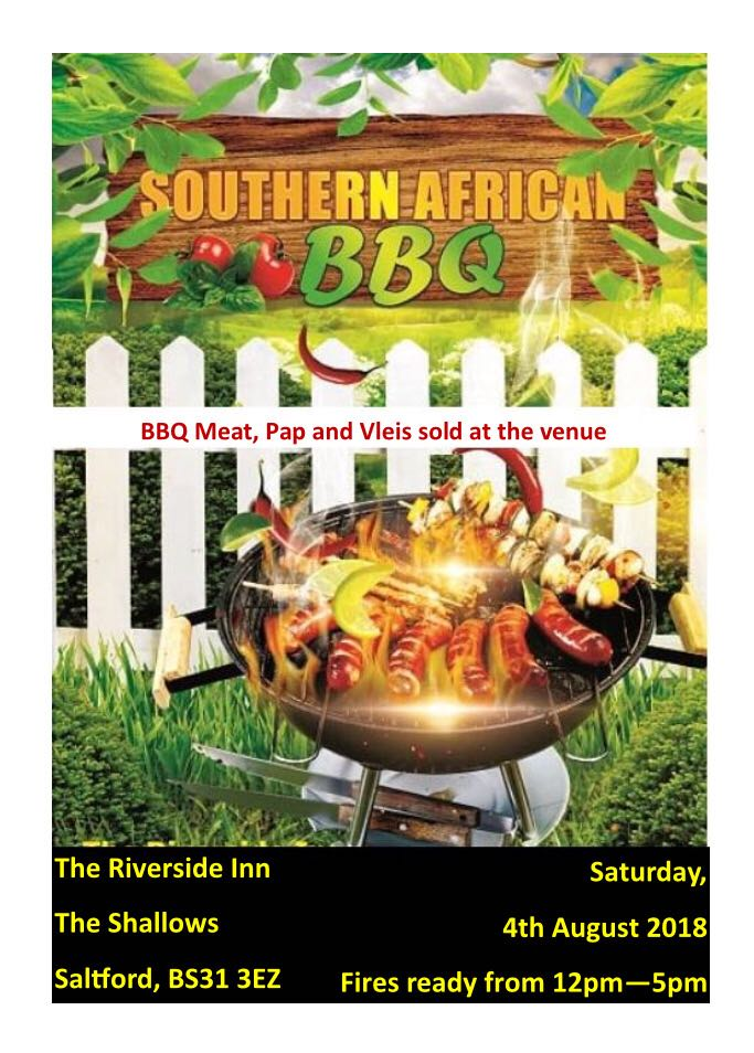 SA Braai at the Riverside, Saltford - Saturday 4th Aug
