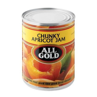 All Gold Jam Chunky Apricot 450g