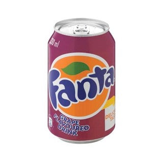 Fanta Grape 330ml Cans