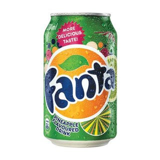Fanta Pineapple 330ml Cans