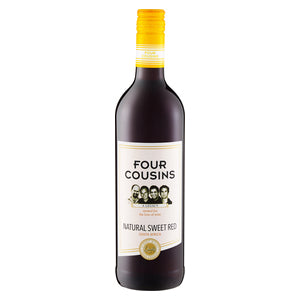 Four Cousins Red 750ml