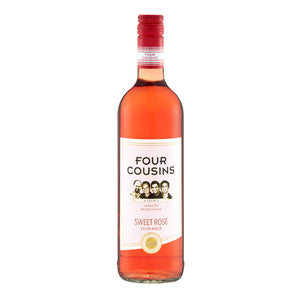 Four Cousins Rose Wine 750ml