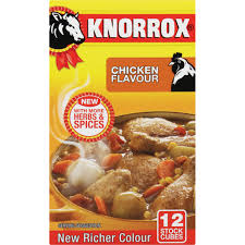 Knorrox Stock Cubes 12 Chicken Flavour