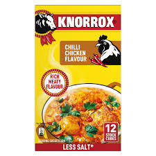 Knorrox Stock Cubes 12 Chilli Chicken