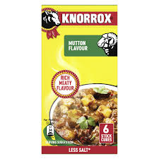 Knorrox Stock Cubes 12 Mutton Flavour