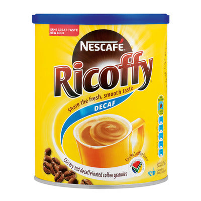 Nescafe Ricoffy Decaffeinated Instant Coffee 250g