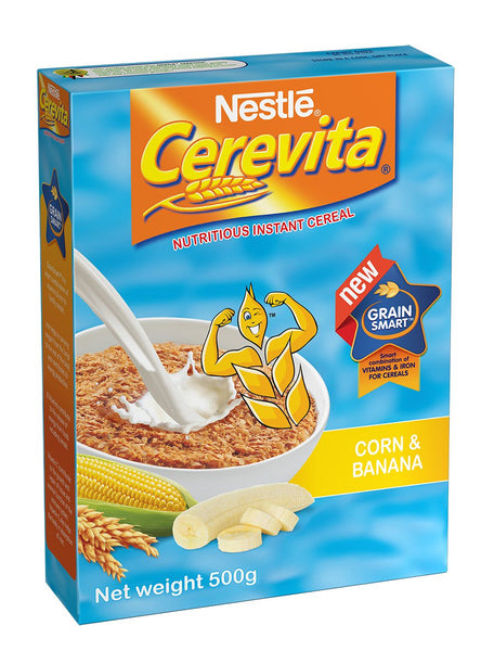 Nestle Cerevita Banana 500g