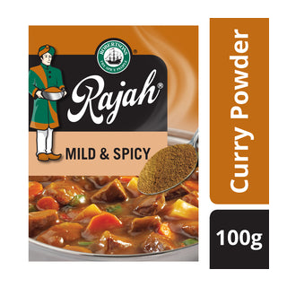 Rajah Curry Powders 100g