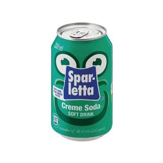 Sparletta Creme Soda 330ml Cans