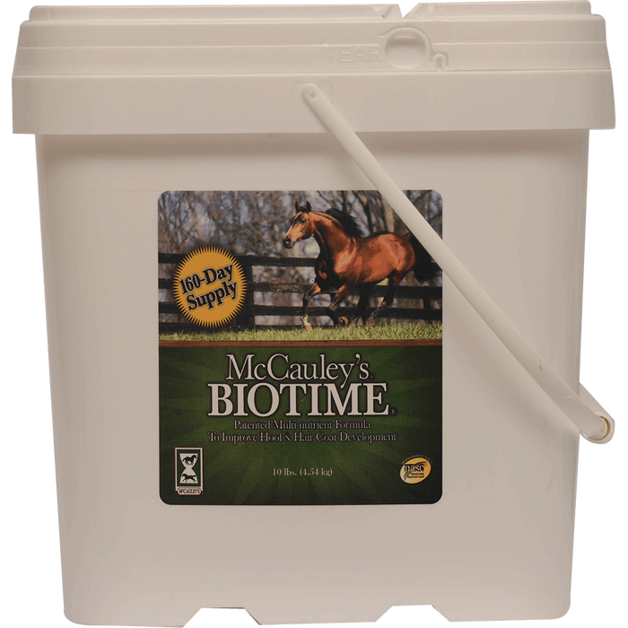 McCauley's® Biotime® Hoof and Coat Supplement for Horses
