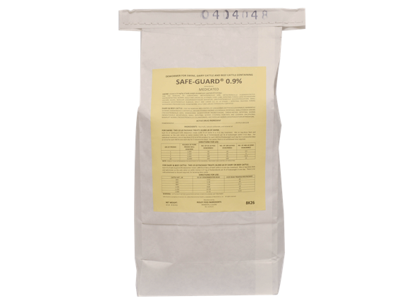 Cattle Wormer Package - Label