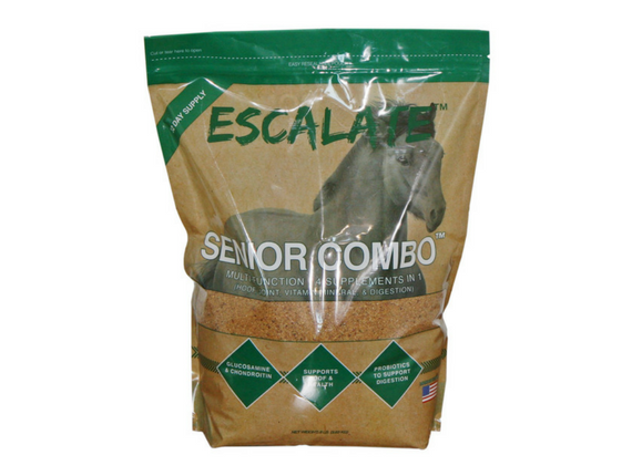 Escalate™ Senior Combo™  4 in 1 Equine Supplement