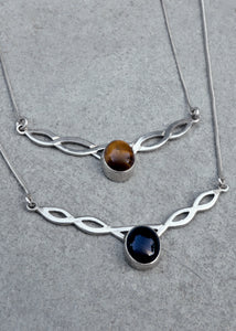 Silver Celtic Twist Necklace