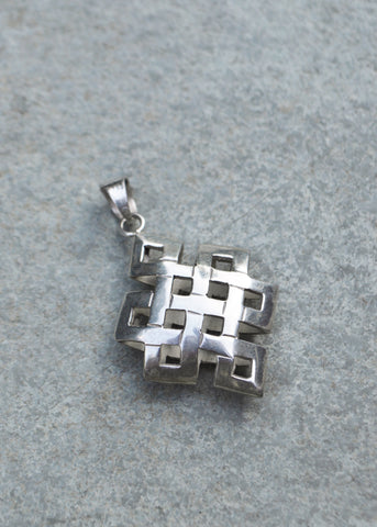 Endless Silver Pendant