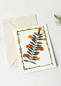 Dried Flower Gift Card