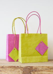 Medium Recycled Paper Gift Bags