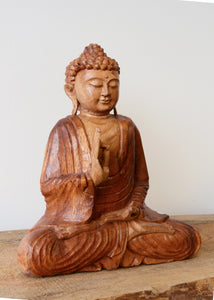 Wooden Buddha Carving