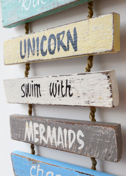 Unicorns and Fairies Sign