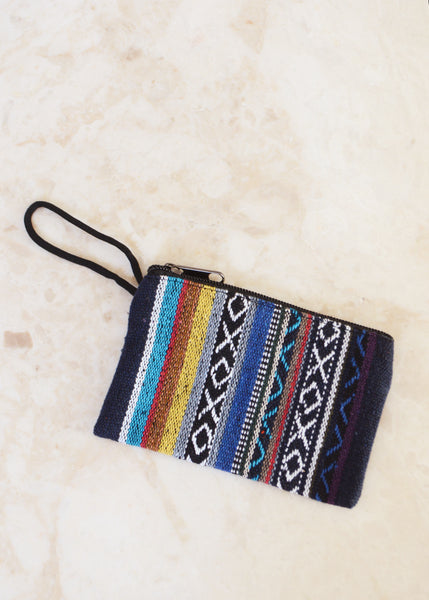 Mini Fabric Purse Bright