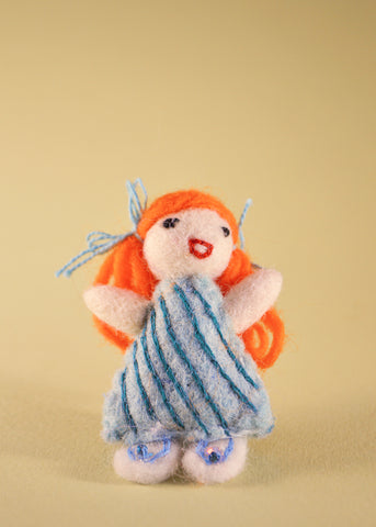 Little Girl Brooch