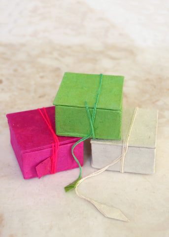Small Lokta Paper Gift Box