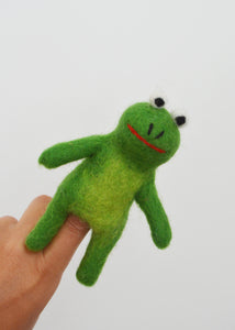 Kermit the Frog Finger Puppet