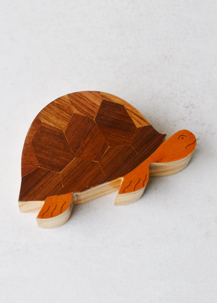 Wooden Turtle Box